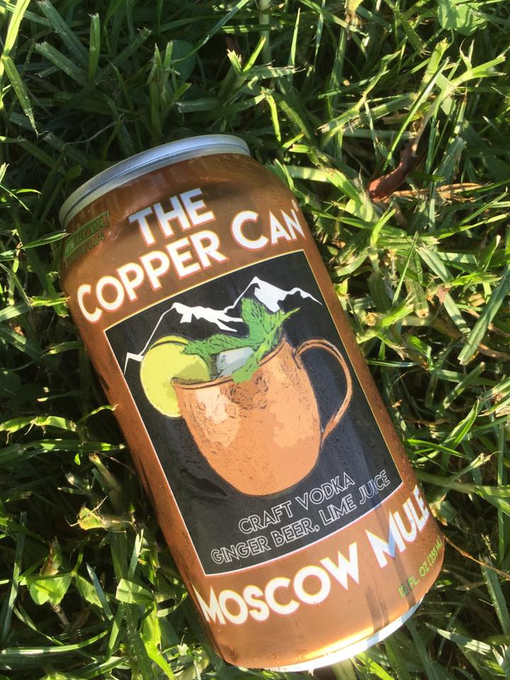 Can in grass