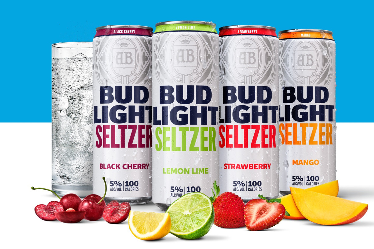 Bud light seltzers cans